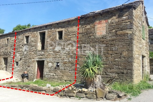 House, 56 m2, For Sale, Buzet - Štrped