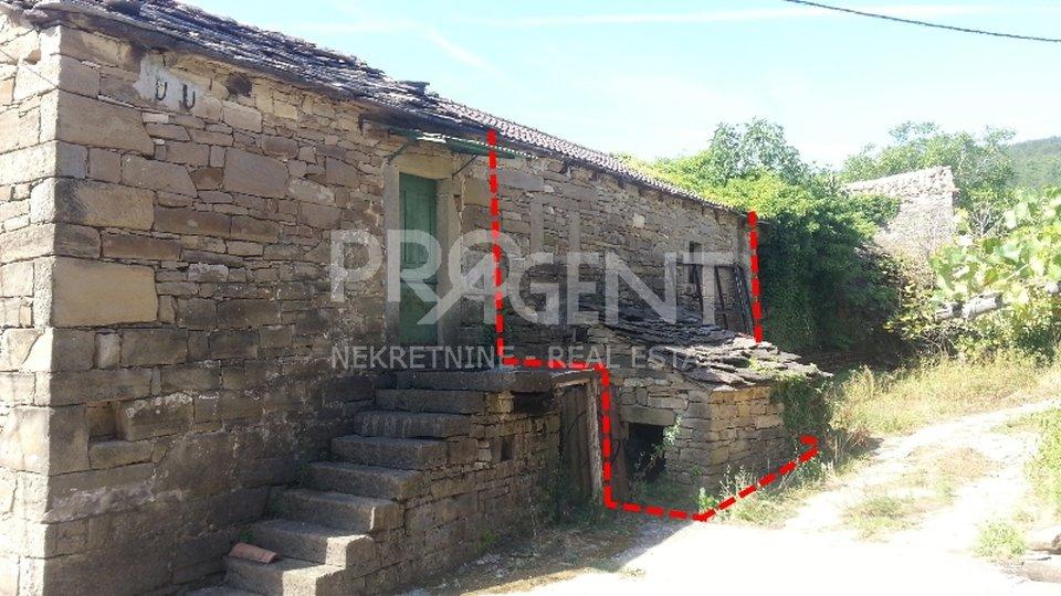House, 56 m2, For Sale, Buzet - Štrped