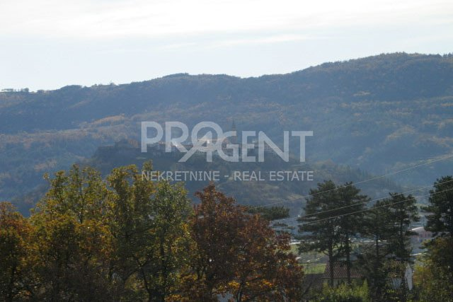 Land with view of Buzet