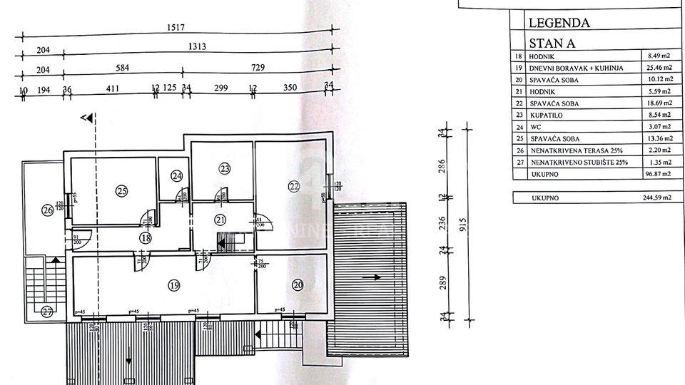 Poreč, samostojeća kuća s apartmanom