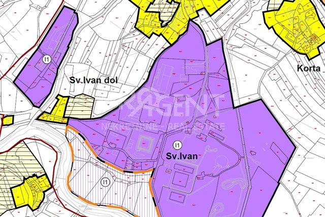Istra-Buzet, zemljište unutar zone gospodarske namjene-I1
