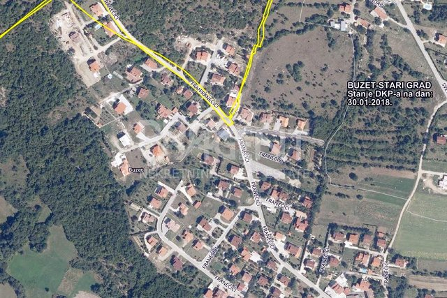 Land, 1016 m2, For Sale, Buzet