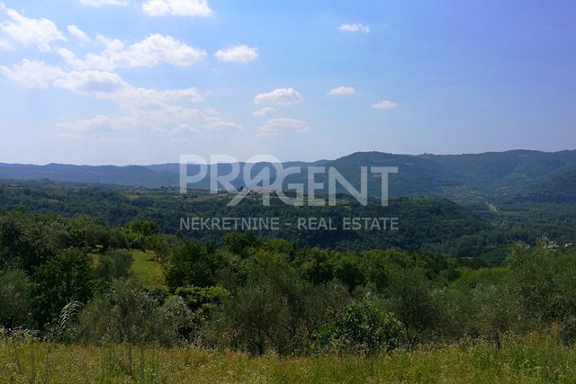 Land, 2633 m2, For Sale, Buzet - Sovinjska Brda