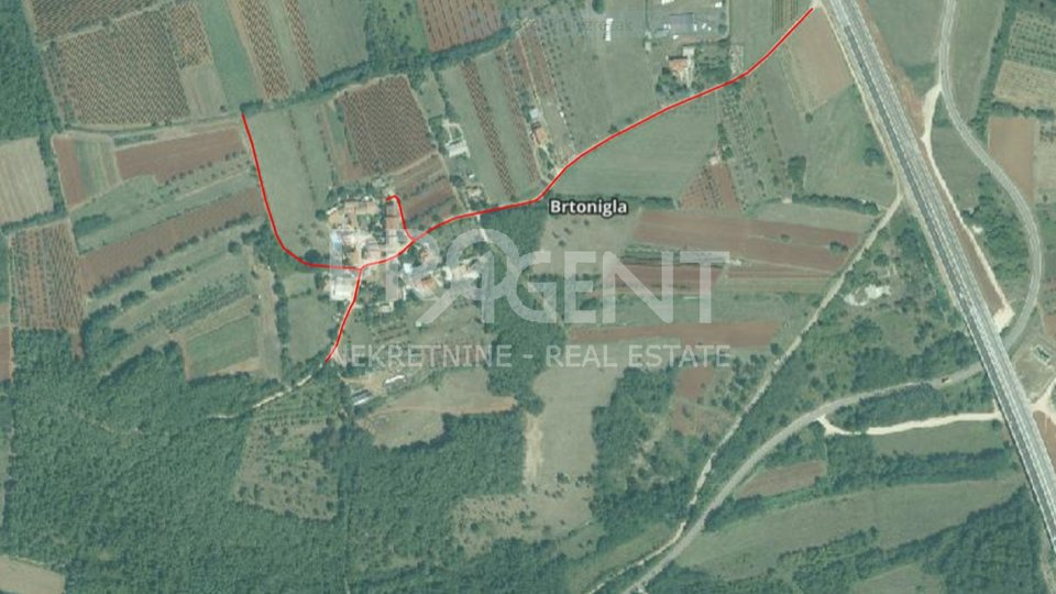 Land, 14620 m2, For Sale, Brtonigla