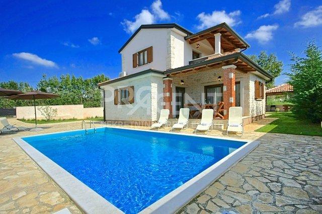 Schönes Haus mit Pool im Zentrum von Istrien