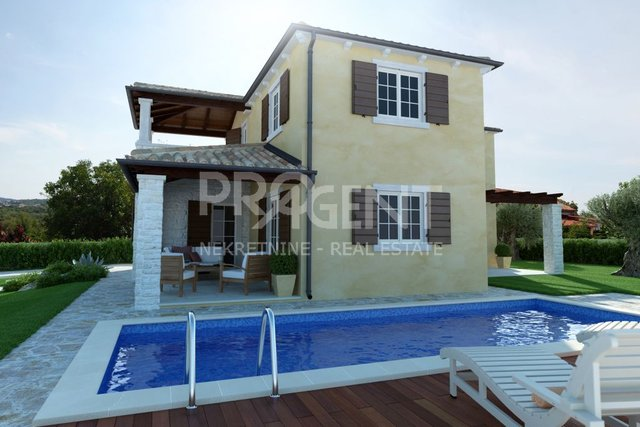 House with swimming pool near Poreč