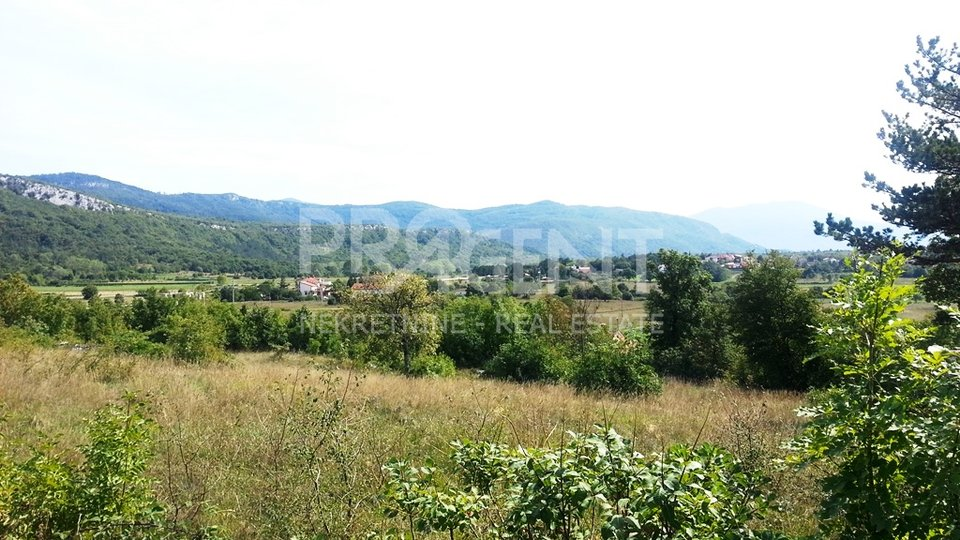 Land in Istria with permit to build