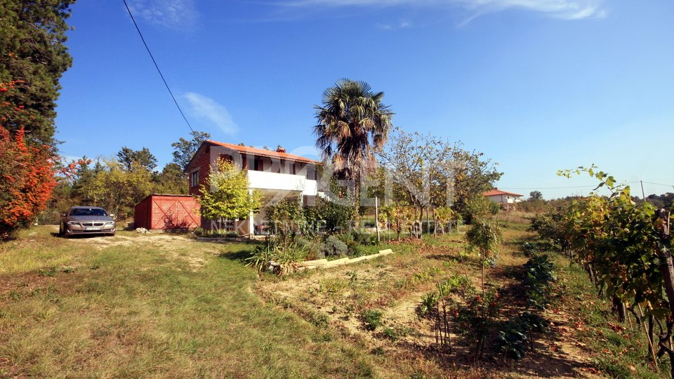 Istria, detached house with beautiful views