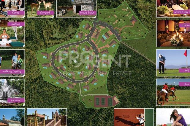 Building land for Resort, central Istria
