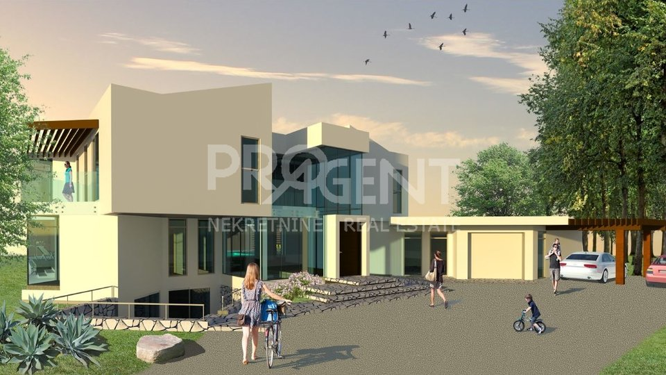 Istria, Višnjan, two building land with building permits