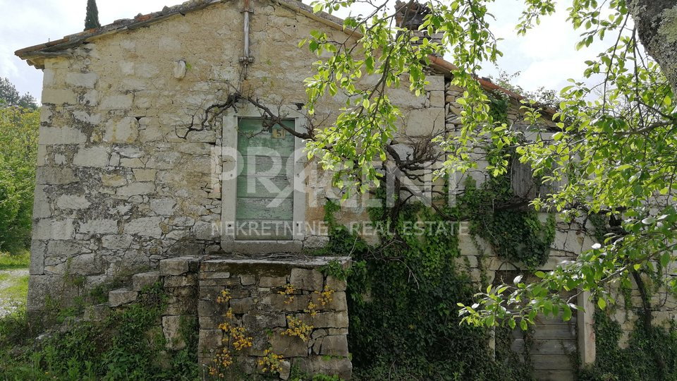 Istria, old stone house for adaptation