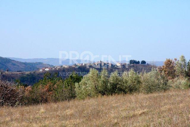 Istrien, Baugrundstück bei Buzet
