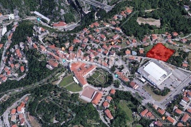 Rijeka, building plot for public garage