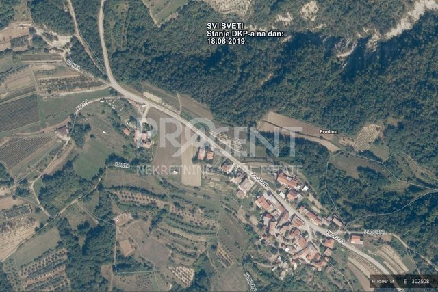 Land, 2442 m2, For Sale, Buzet - Prodani