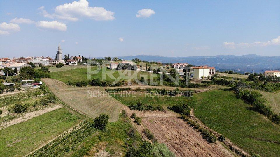 Vrh, building plot overlooking Butoniga Lake