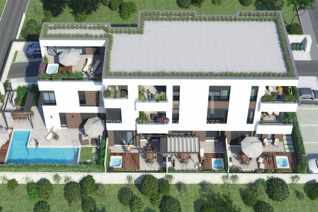 Novigrad, new apartment with seaview