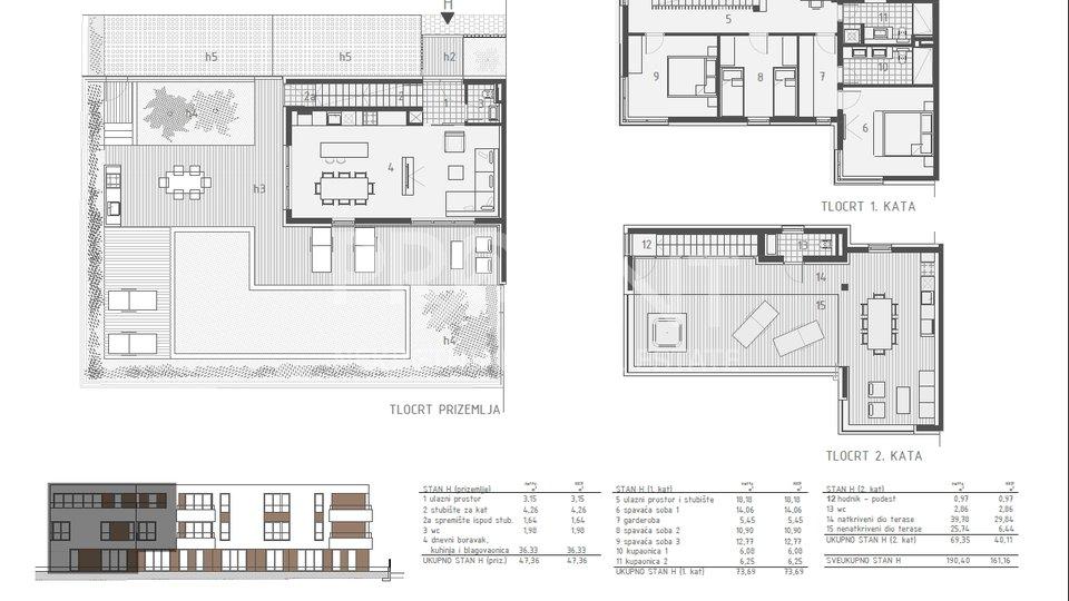 House, 190 m2, For Sale, Novigrad