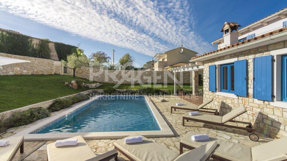Istrien / Barban, freistehendes Haus mit Pool