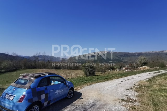 Land, 1136 m2, For Sale, Buzet - Štrped