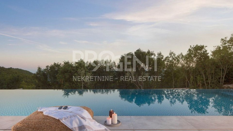 Istria, Labin, Newly built villa with pool