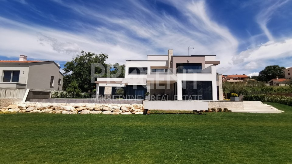 Istria, luxury fully equipped villa with sea view