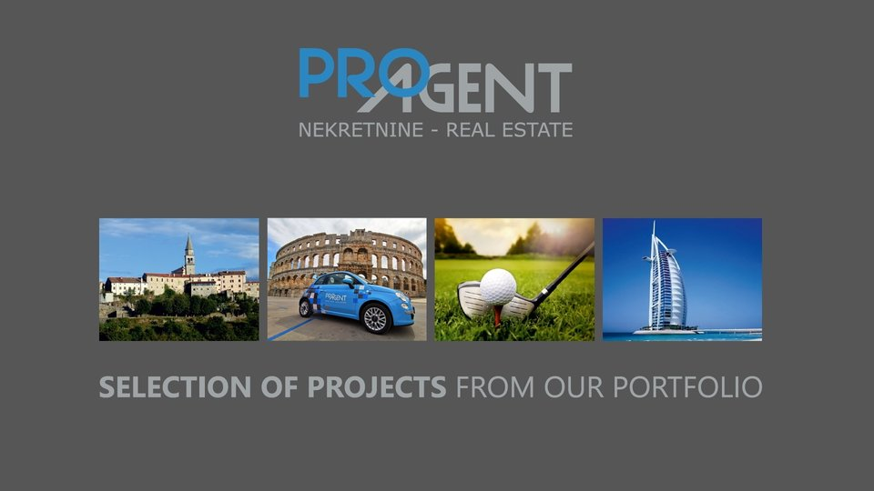 Istria, building plot near Buzet
