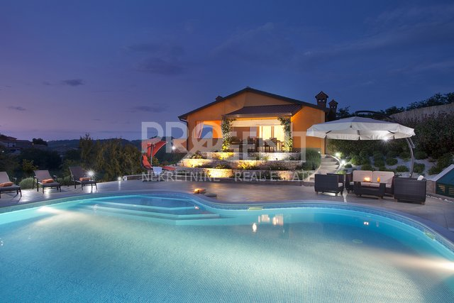 Istria, Motovun, house with a swimming pool, wellness and a big garden