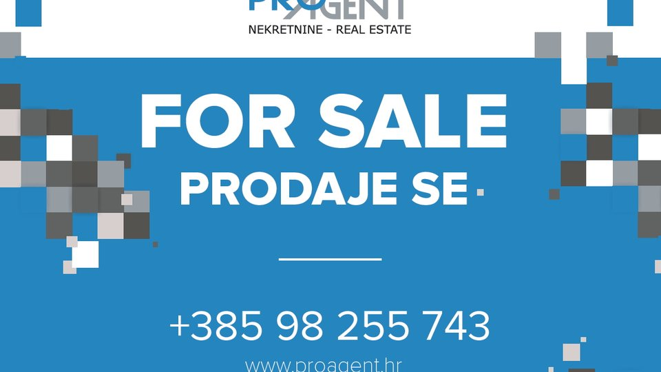 Istria, Zamask, two building plots with a beautiful view of Motovun