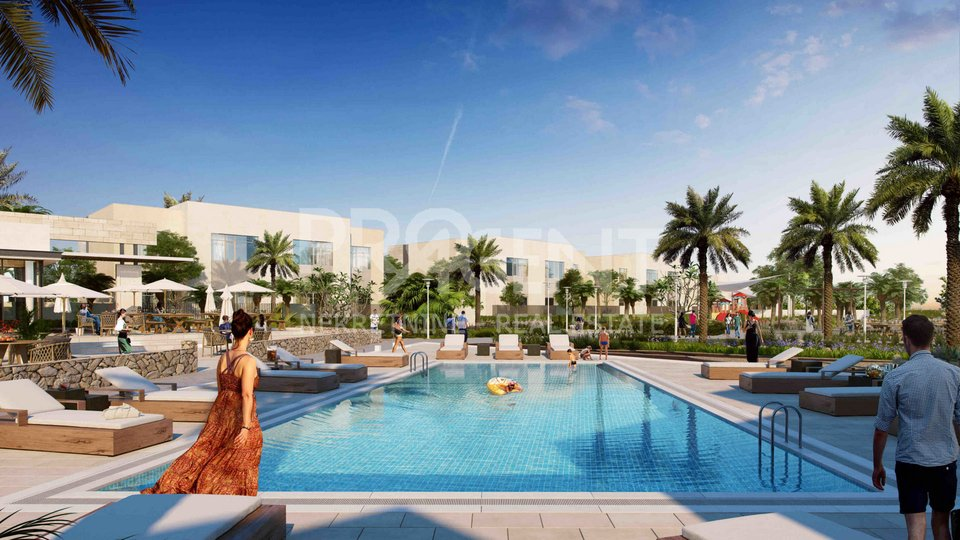 Dubai, Emaar South, two bedroom apartment in a golf resort