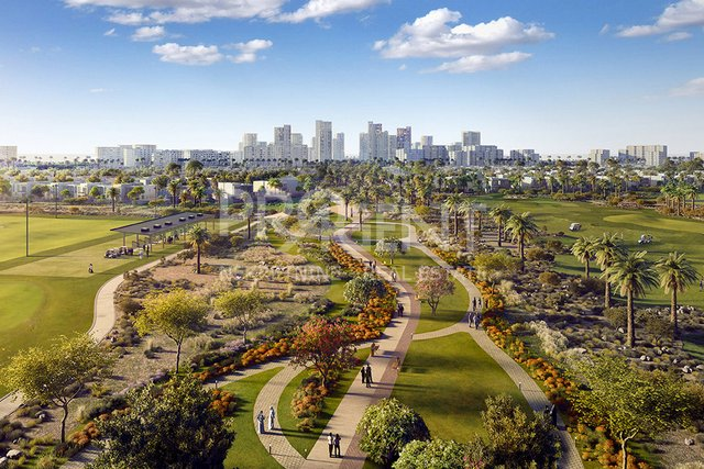 Dubai, Emaar South, dvosobni stan u golf resortu