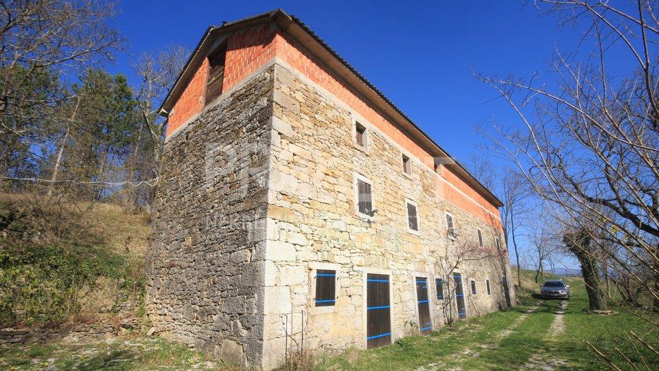 Altes Steinhaus in Buzet