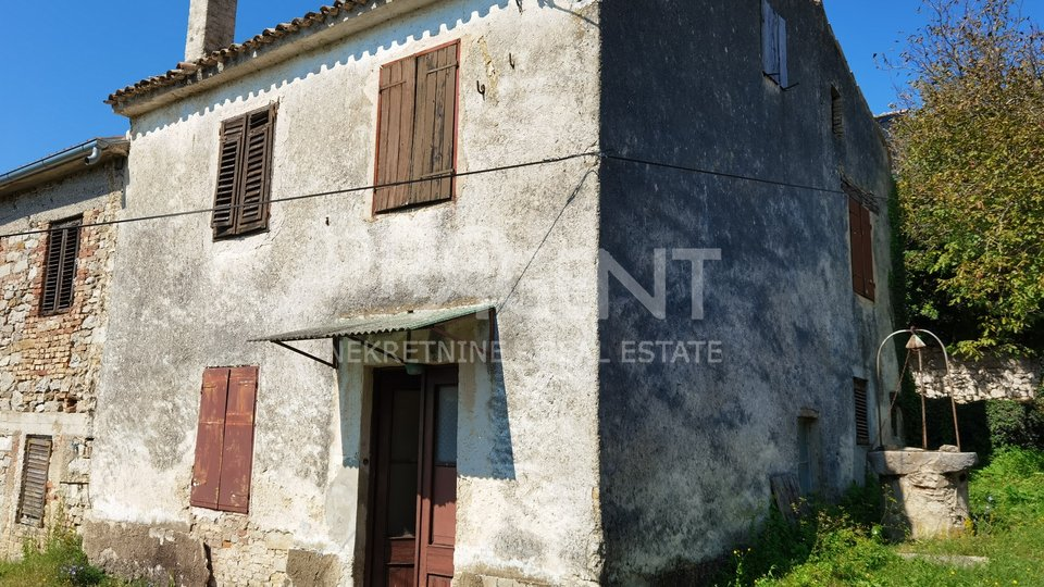 Istria, old stone house near Buzet