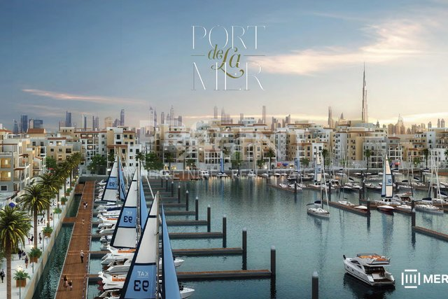 Dubai, Port De La Mer, one bedroom apartment