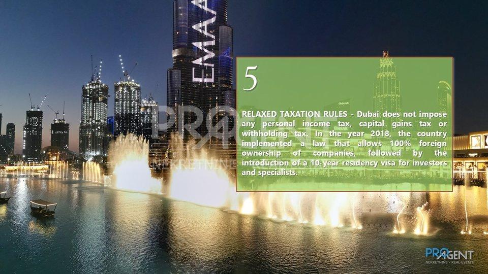 Dubai, Port De La Mer, jednosobni stan