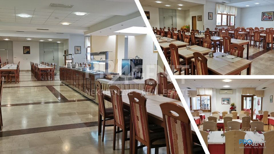 Istarske toplice, Hotel i Poliklinka