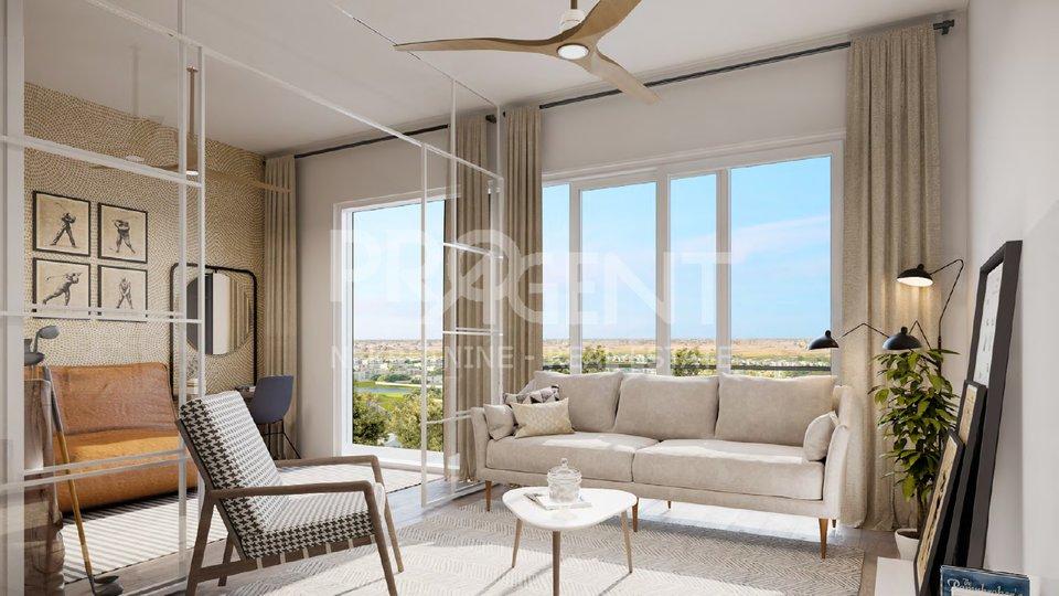 Dubai Hills, GOLFVILE, Apartment mit zwei Schlafzimmern in einem Golfresort