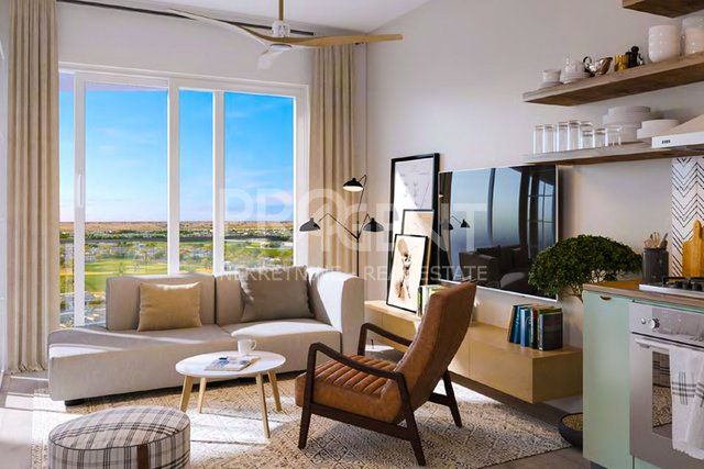 Dubai Hills, GOLFVILE, one bedroom apartment in a golf resort