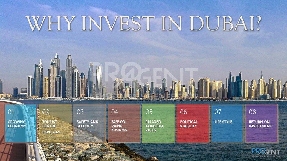 Apartment, 90 m2, For Sale, Dubai