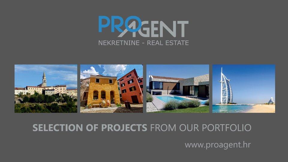Building land for sale, Istria, Buzet, Veli Mlun, 705 m2