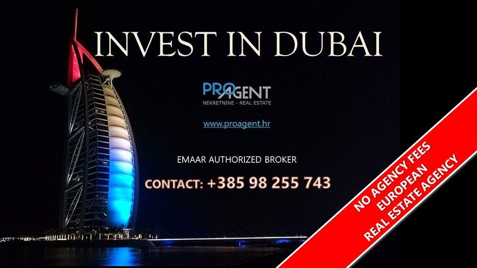 Downtown Dubai, a luxury apartment next to the Burj Khalifa