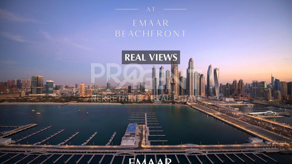 Dubai, Emaar Beachfront, Marina Vista